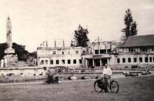 balai kota malang yang hancur saat agresi militer belanda [peristiwa crash 1, 1947]