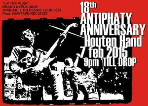 Antiphaty 18th Anniversary Show