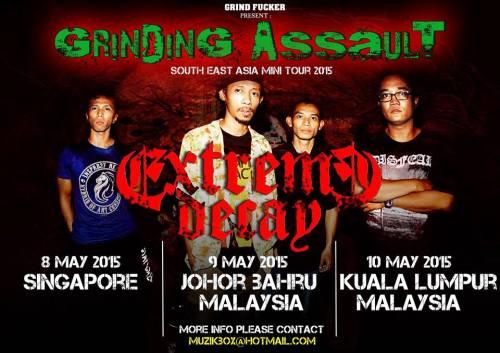 ExDX SEA tour flyers